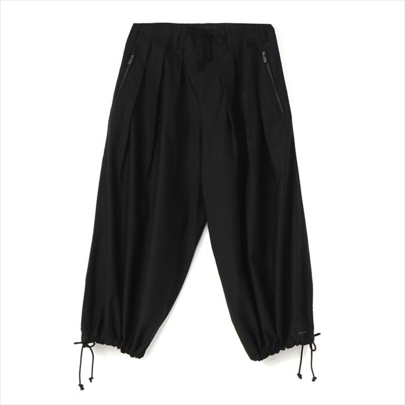 画像1: YOHJI YAMAMOTO BLACK Scandal Basic Balloon Pants (バルーンパンツ) (1)
