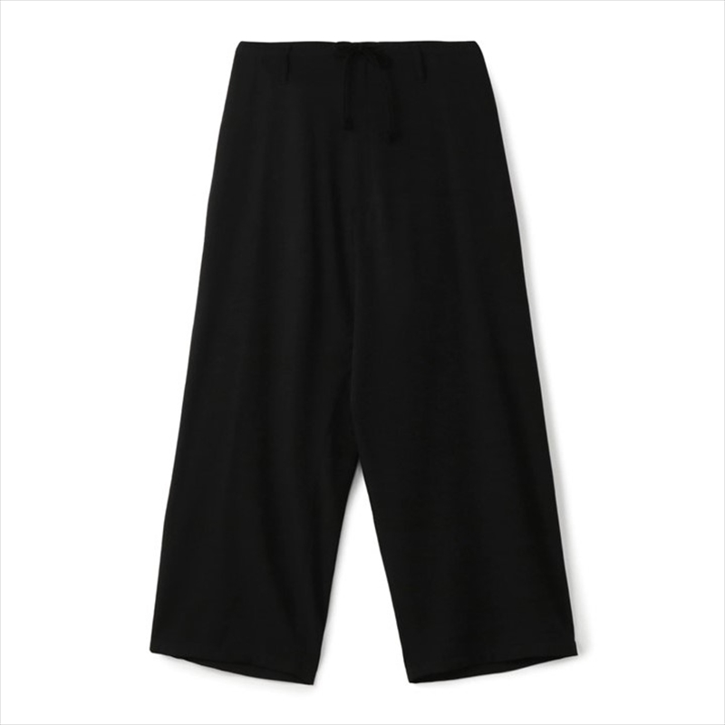 画像1: YOHJI YAMAMOTO Basic Gabardine String Pants (シワギャバヒモパンツ) (1)