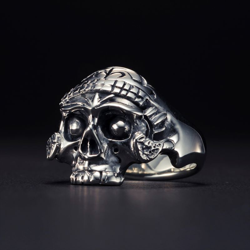画像1: Antidote BUYERS CLUB Tibetan Skull Ring (チベタンスカルリング) (1)