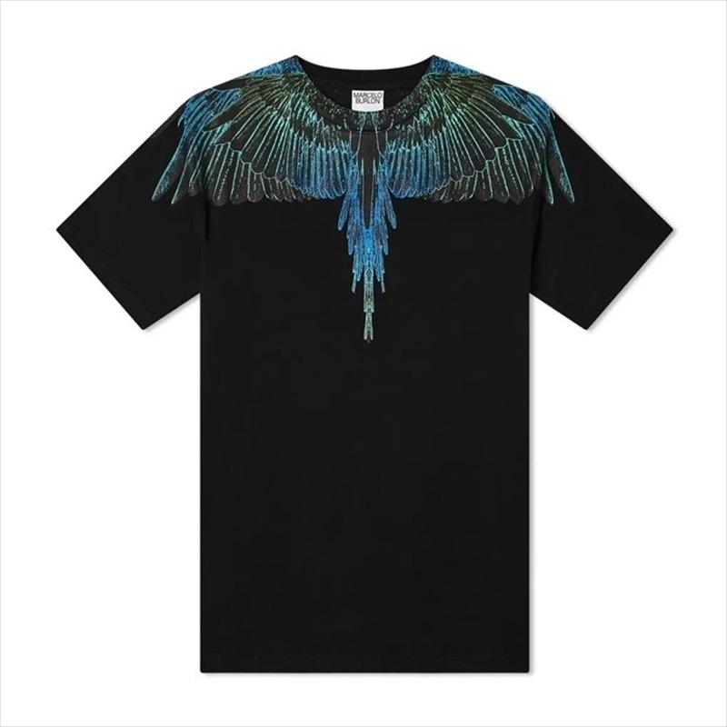 画像1: MARCELO BURLON Wings T-Shirt (Tシャツ) (1)