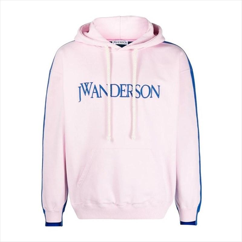 画像1: JW ANDERSON Deconstructed Fleece Back Hoodie (パーカー) (1)