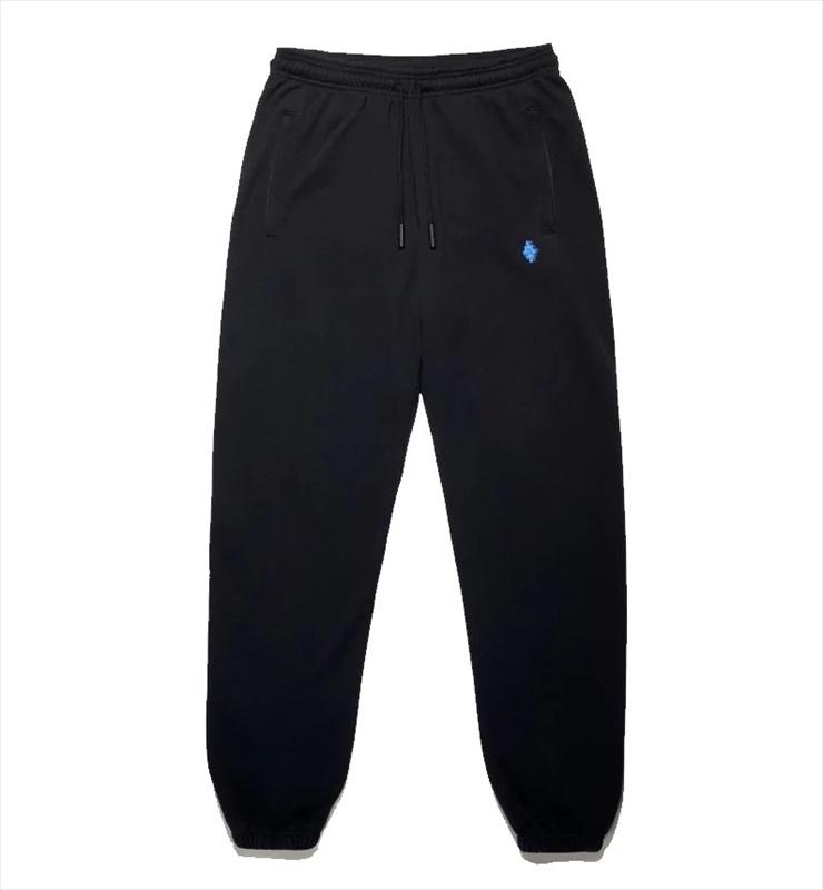 画像1: MARCELO BURLON County Tape Relax Sweatpants (スウェットパンツ) (1)